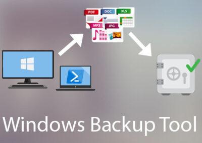 Windows Backup Tool