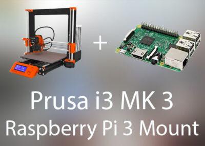Prusa MK3 Raspberry Mount