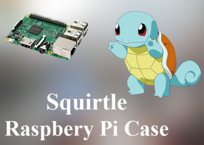 Squirtle Raspberry Pi Case
